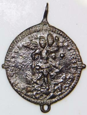 Rare St. Michael Archangel MEDIEVAL HOLY MEDAL Patron Military Army Soldier Para