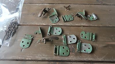 Vintage Lot Latches , Hinges , Hardware