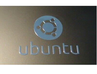 UBUNTU operating system WINDOWS computer 8 sticker PC 10 Genuine 7 Silver Label