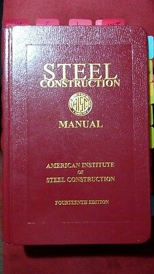 AISC Steel Construction Manual 14th Edition - Hardcover