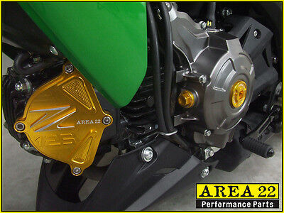 KAWASAKI Z125 PRO Cr Racing Right Side Engine Cover - $79 93