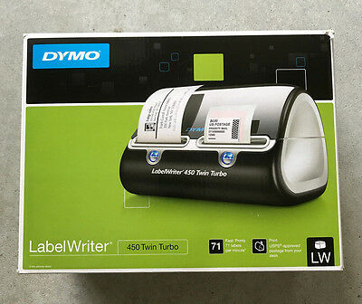 Brand NEW! DYMO LabelWriter 450 Twin Turbo Thermal Label Maker