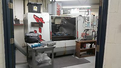 Used Haas VF-4 CNC Vertical Machining Center 50x20 Mill Gearbox 4th ready 1998