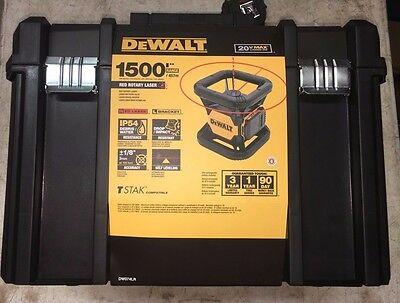 Dewalt 20v Opp Red Tough Rotary Laser DW074LR