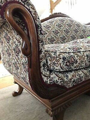 Antique Victorian Sofa late 50's/ early 60's