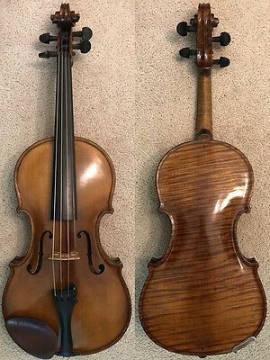 A Beautiful Vintage Violin Personally Made by William Horning in Ohio in 1939