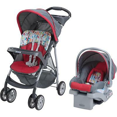 Graco LiteRider Click Connect Travel System, with SnugRide 22 Infant Car...