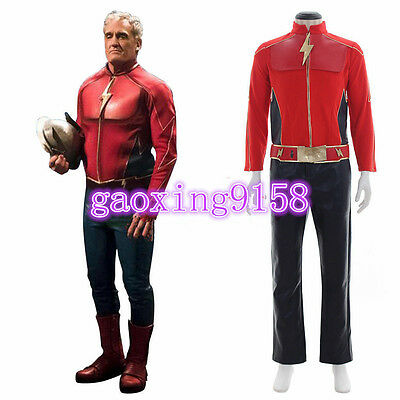 The Flash Season 2 Jay Garrick Cosplay Costume Custom made the flash costumeG.04