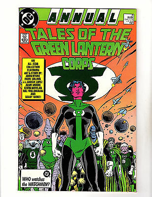 Tales of the Green Lantern Corps Annual #3 (1987, DC) VF Alan Moore John Byrne
