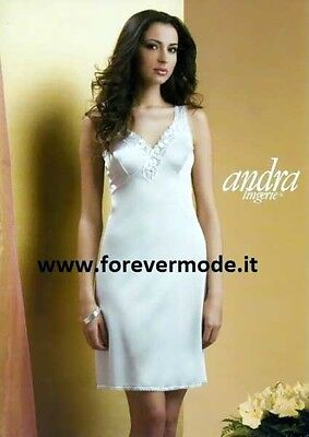 Petticoat Woman Andra Wide Shoulder with Forma Del Breast Lace Embossed Art. 357