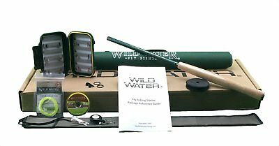 Wild Water Fly Fishing Complete Tenkara Package