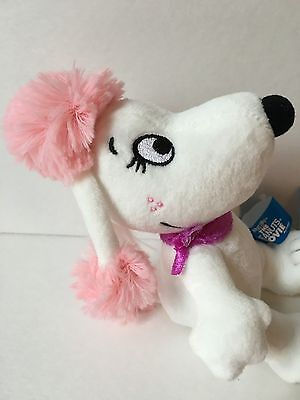 THE PEANUTS MOVIE FIFI Snoopy girlfriend Plush Bean Doll Japan Limited