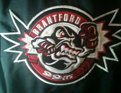 Brantford jr 99ers player worn jacket OHMA GOJHL