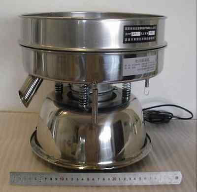 Stainless Steel Electric Chinese Medicine Sieve, Vibrating Sieve Machine A1