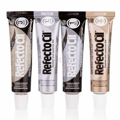 RefectoCil Professional Eyelash Eyebrow Tint Hair Cream Dye Henna Black Brown