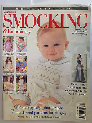 Australian Smocking & Embroidery Magazine Issue No 71, 2005