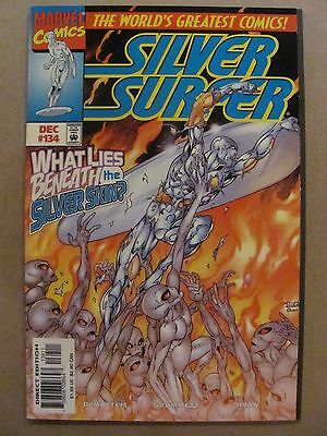 Silver Surfer #134 Marvel Comics 1987 Series 9.4 Near Mint