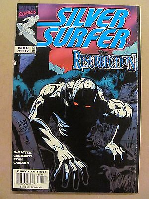 Silver Surfer #137 Marvel Comics 1987 Series 9.4 Near Mint