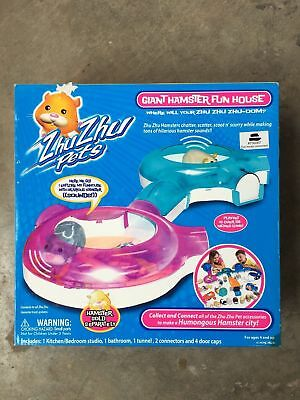 FREE GIFTS IF U BUY Zhu Zhu Pets Giant Hamster Fun House FREE SHIPPING BRAND NEW