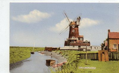"""""postcard The Mill,cley,norfolk"""""