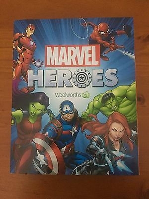 WOOLWORTHS MARVEL HEROES DISC CASE  **No Discs**