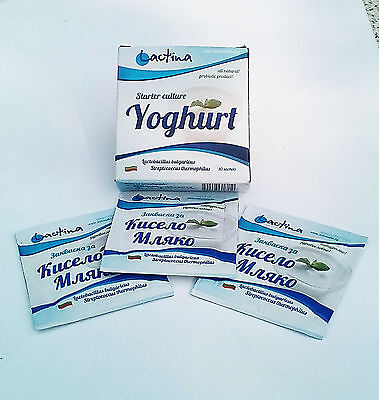 Bulgarian Yogurt Starter Culture,natural,home Made, Probiotic-5 L