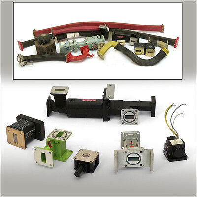 Hohlleiter - Sortiment, Waveguides, X-Band, Waveguide Components and Adaptors