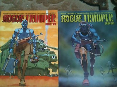 rogue trooper graphic novel book 1 and 2 one & two 2000ad Books x2 Titan