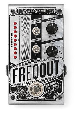 DigiTech FreqOut Natural Feedback Creator Guitar Effects Pedal!