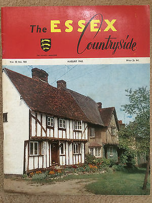Essex Countryside magazine - Aug 1965 - Messing, Canvey Island