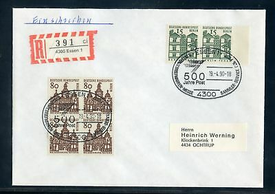 BERLIN Nr.249 VIERERBLOCK + Nr.243 PAAR R-BRIEF ME 215,-++ !!! (122860)