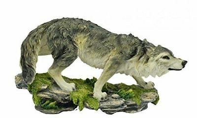 Novelty Prowling Wolf Figurine Statue Ornament Gift
