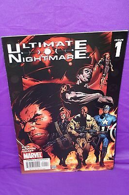 Ultimate Nightmare #1 Warren Ellis 2004 1st Print Marvel Comics Comic F/VF