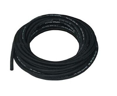 8mm ID Rubber Cotton Overbraid Fuel Hose DIN73379