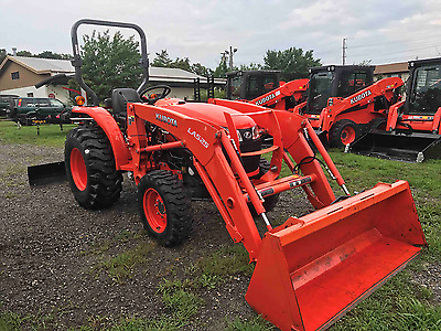 Used Kubota L2501D  Balance Of Manufactures Warranty Included, Only 95.9 Hrs!
