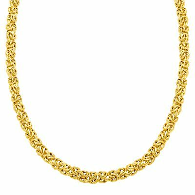 Byzantine Chain Necklace in 18K Gold-Plated Sterling Silver