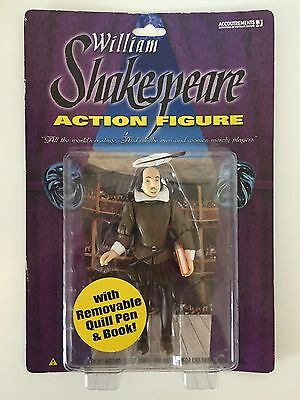 "William Shakespeare 5"" Action Figure Accoutrements NIP!"