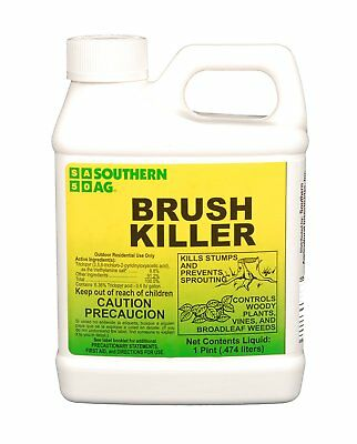 Southern Ag Brush Killer Contains 8.8% Triclopyr, 16oz - 1 Pint