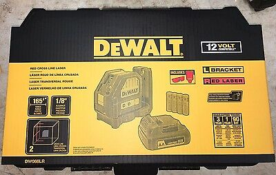Dewalt Red 12V Cross Line DW088LR