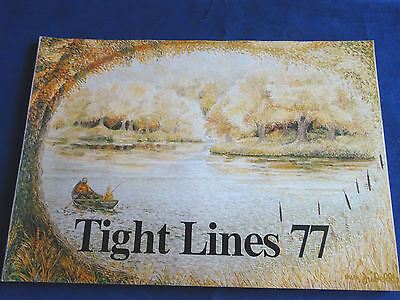 Vintage Abu Tight Lines Fishing Catalogue For 1977