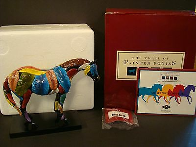 Trail of Painted Ponies HORSEFEATHERS New In Box, Mint Condition LOW 1E/2968!