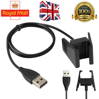 Replacement USB Power Charger Charging Cable For FitBit CHARGE 2 Bracelet UK