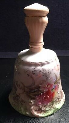 Very Fine Old Porcelain Victorian Era Bell