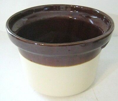 McCoy Brown Crock Pot 2.5 Quart Ovenproof 1265 Made in USA