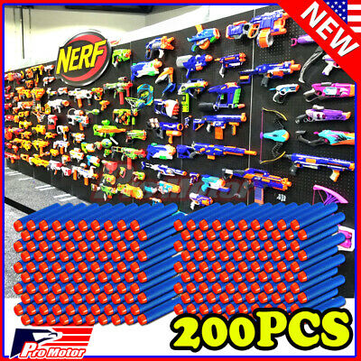 Purple 7.3cm 100PCS Refill Bullet Darts for Nerf toy Gun N-strike Elite Series