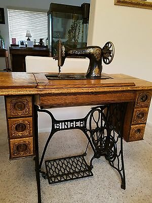 REFINISHED 1913 Singer Sewing Machine, Model 115, Very Good Condition $450 OBO