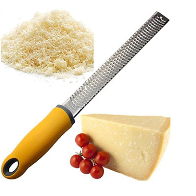Citrus Lemon Zester & Cheese Grater with Professional Blade & Non-Slip Handle