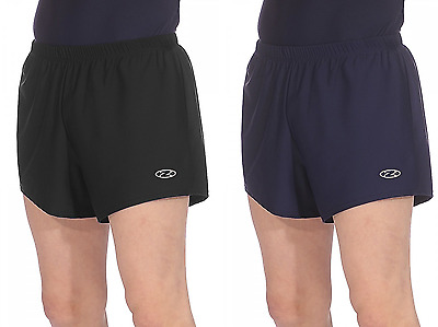 THE ZONE Z121 Mens and Boys Gymnastics Shorts Gym Gymnast Dance Black or Navy