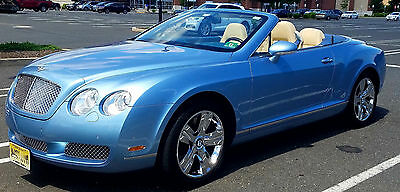 2007 Bentley Continental GT GTC Convertible 2-Door tunning Color combination, mint condition in and out. 10,700 miles!
