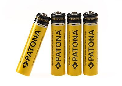 Battery - rechargeable Power Batteries AAA Micro 4-Pack [ Ni-Mh; 900mAh; 1.2V ]